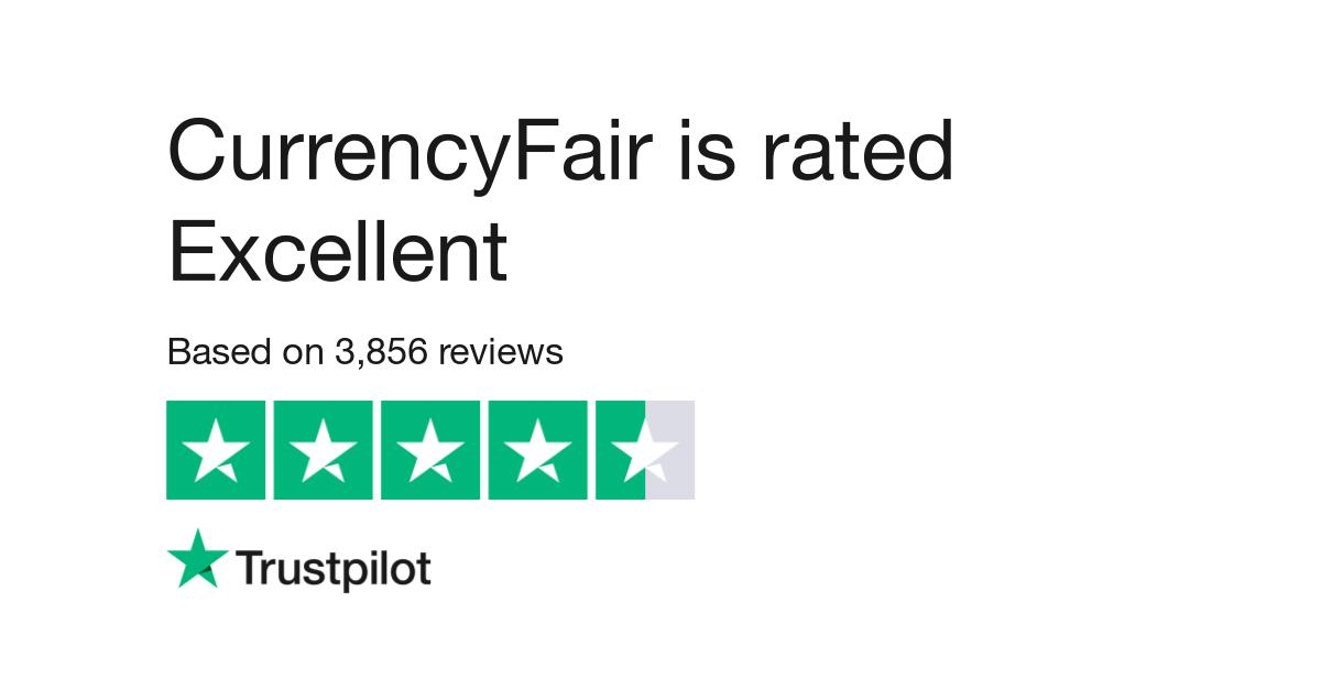 حصلت currencyfiar بمجموع التقييمات على ممتاز على موقع Trustpilot بمجمل ٣.٨٥٠ تقييم تقريبا.